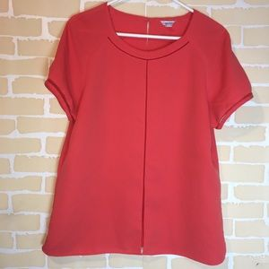 Calvin Klein Orange Polyester Blouse